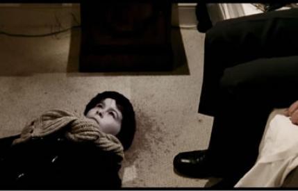 An image of Matthew lies dead on the Hotel room floor